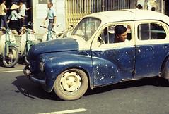 automobile, vehicle, renault 4cv, city car, compact car, antique car, classic car, vintage car, land vehicle, motor vehicle,