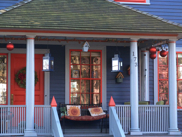 blue-orange-doorway