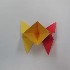 วิธีการพับกระดาษเป็นดาวหกแฉกแบบโมดูล่า 012