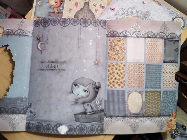 Santoro Mirabelle paper pack inside
