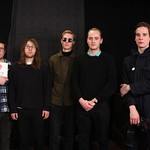 Eagulls perform live in Studio A at WFUV in on 1.29.14.