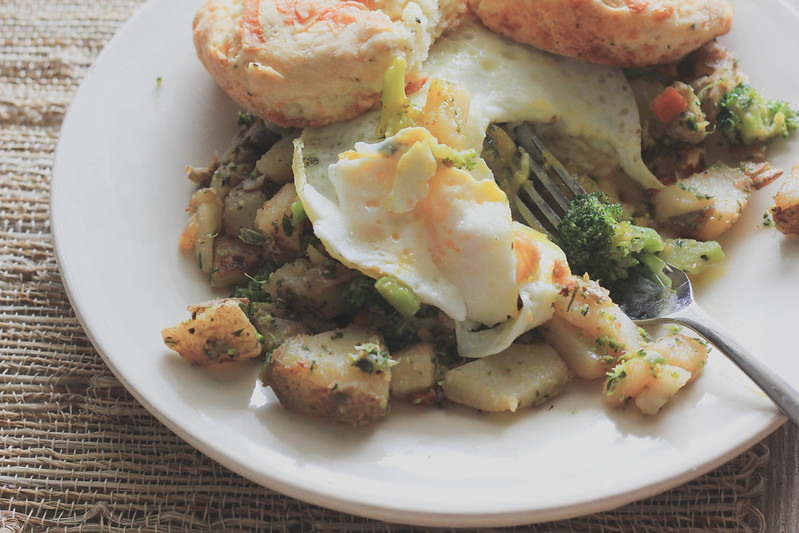 2 Pepper Broccoli Hash