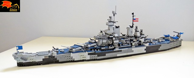 Battleship USS Missouri BB-63 - LEGO Model