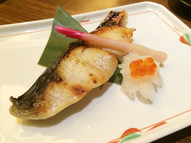 Codfish, Keyaki, Pan Pacific Hotel