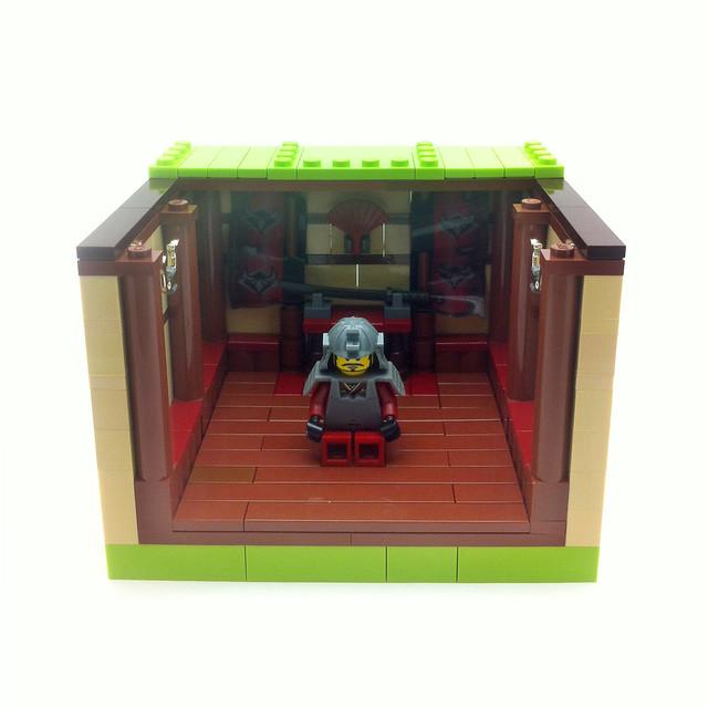 Collectible Minifig Apartment - Samurai (Series 3)
