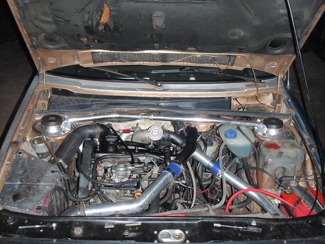 Golf MK2 m-TDI Swap - Diesel Swaps - VWDiesel net The IDI