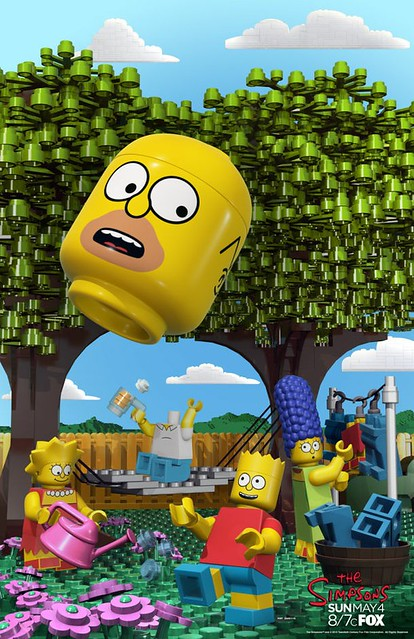 LEGO The Simpsons Poster