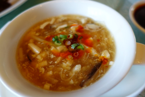 Szechwan Hot Sour Soup at Shisen Hanten