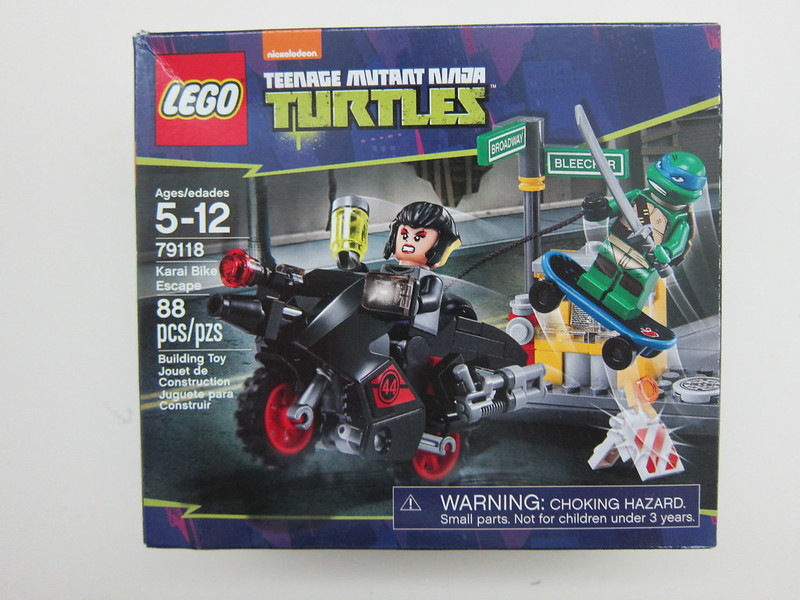 LEGO - 79118 - Ninja Turtles - Karai Bike Escape Building Set