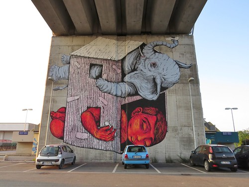 Mural by Bastardilla & Erica il Cane