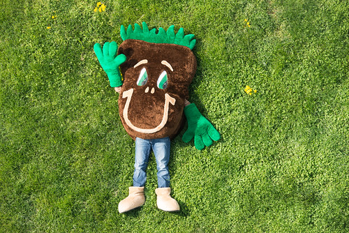Sammy Soil is NRCS' mascot and was created by a district conservationist back in the 1970s. NRCS photo.