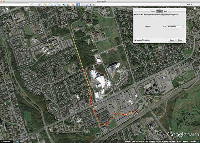 Screen Shot - Google Earth - Bathgate MUP - flat
