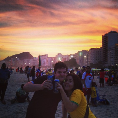Copacabana #praia #beach #rio #copacabana