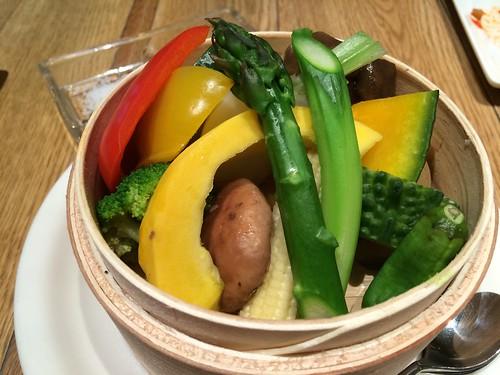 蒸し野菜@シェフズ ブイ 丸ビル店