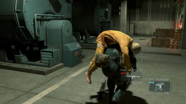 Metal Gear Solid V : Ground Zeroes - Screenshot 3
