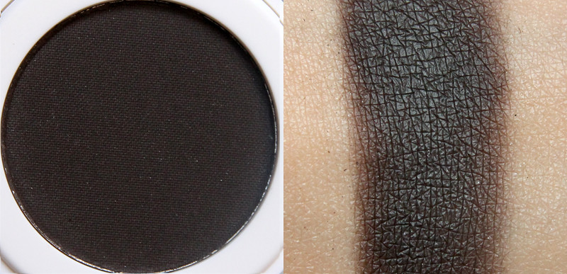 Lily Lolo stick in the mud pressed eye shadow swatch
