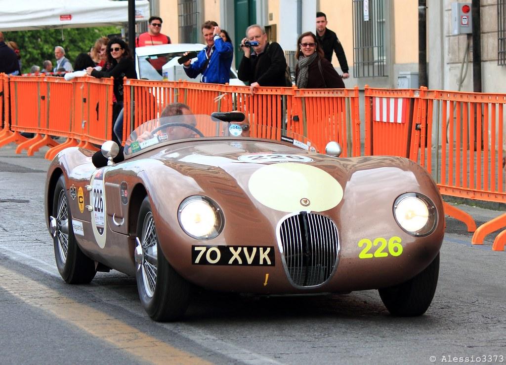 1952 Jaguar C-Type | Mille Miglia 2014 - Bernhard Kuhnt/Jona