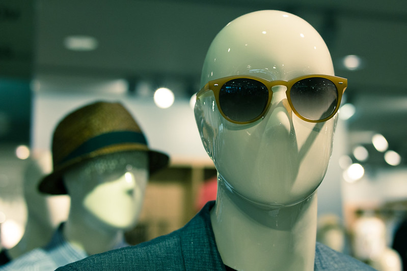 Glasses on a Mannequin