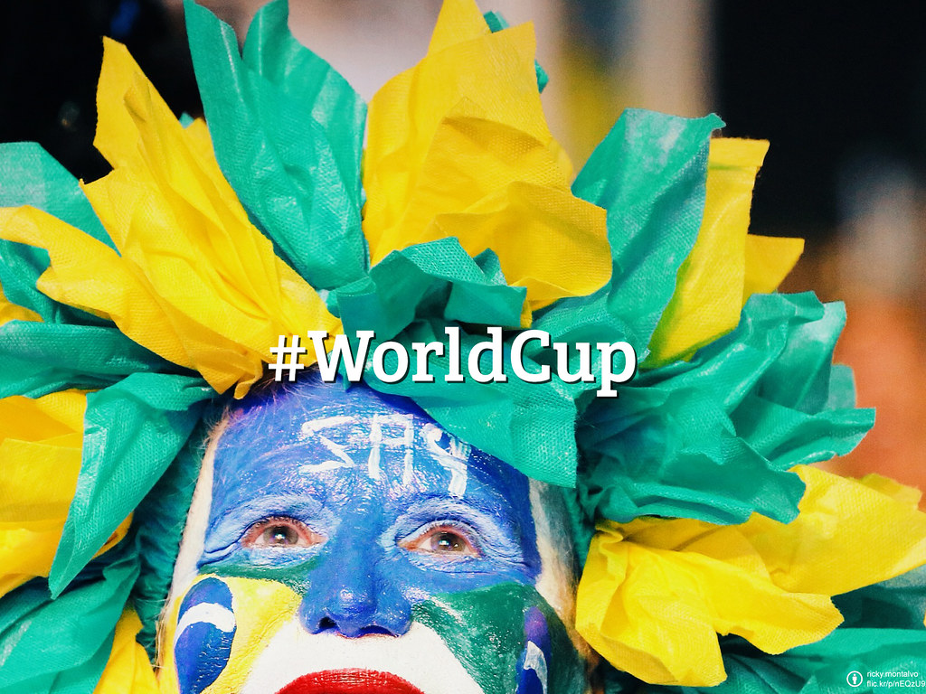 #FlickrFriday: World Cup | Passion and glory will be found all the way around. Share a tweet with exciting moments around this massive event from your Flickr account to @flickr and add #FlickrFriday!