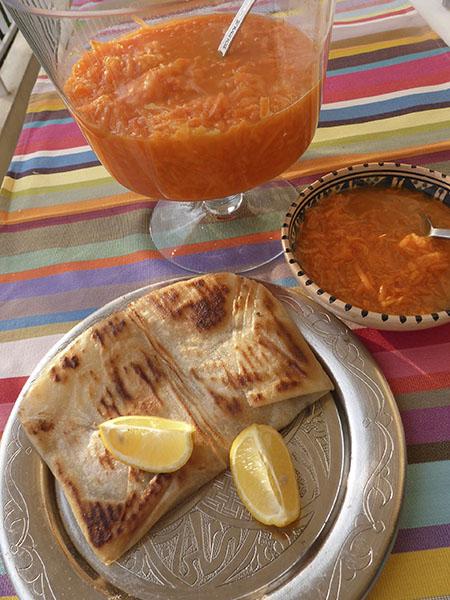 brick au thon et carotte