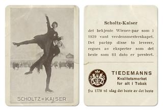 Lilly Scholtz (1903 - ?) og Otto Kaiser (1901 - 1977)