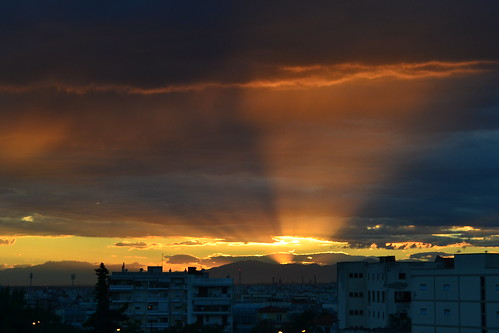 summer sunrise thessaloniki