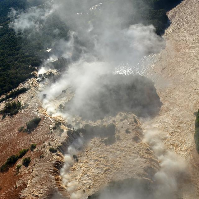 Lado argentino de Iguazú