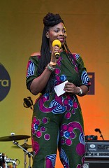 Esther Alade, Africa on the Square, Trafalgar Square, London, 15 October 2016