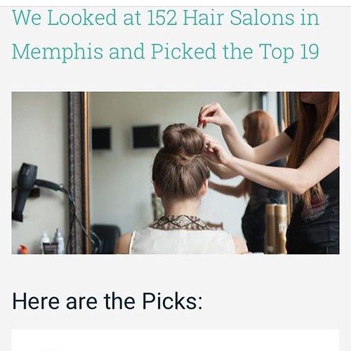 😍 Check out who made the list for the top 19 salons out of 152 in Memphis 👏 @ryanpatricksalon ROCKS! #RyanPatrickSalon #Top19 #MemphisSalon #ErinDrive