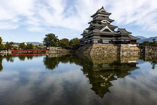 Image of Matsumoto Castle. japan 2016 titan travel essence october 17 titantravel essenceofjapan canon 7d 7dii markii mark ii 2 sigma autumn