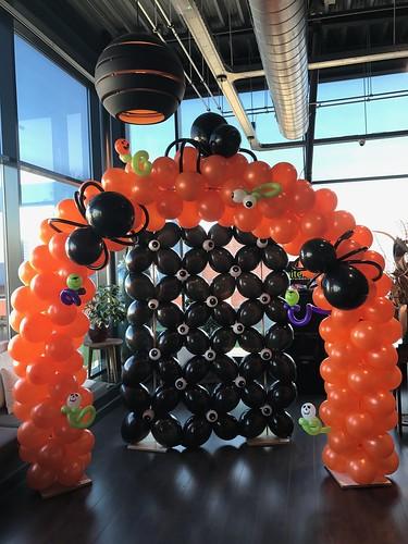 Ballonboog 6m Halloween Watertuin Spijkenisse