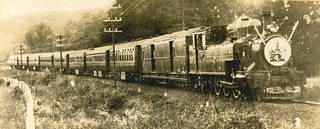 On Royal Train, Summit to Wellington. Duke of Gloucester visit, 1934-1935