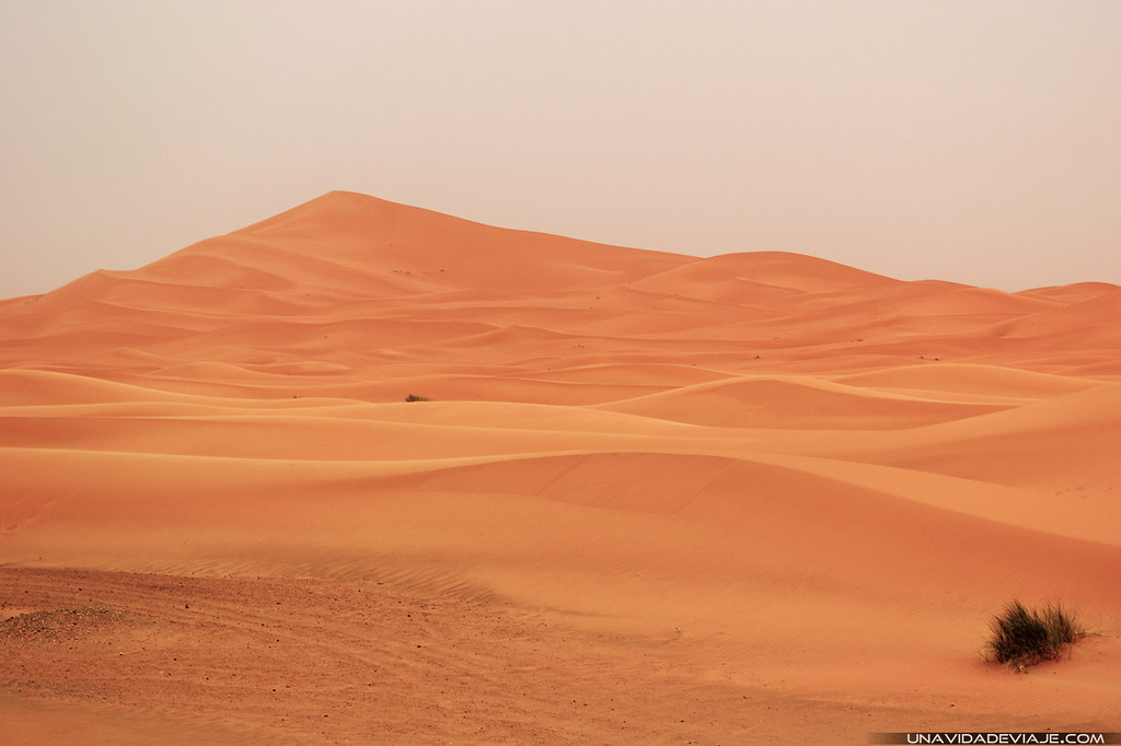 Marruecos sur desierto erg chebbi