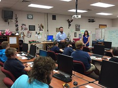 Clayton Legear and Leah Rayburn, M&M Bank - George County High School - 9-12th grade - 3 presentations