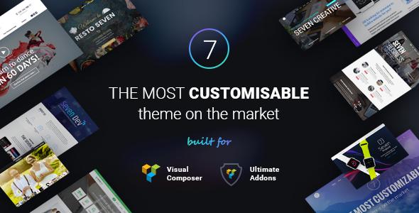 The7 v4.2.2 Responsive Multi-Purpose WordPress Theme