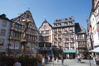 Casas de madera en Bernkastel.