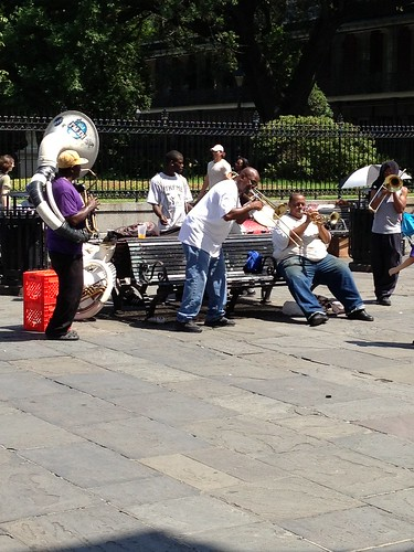 Dixieland Band at Jackson Square