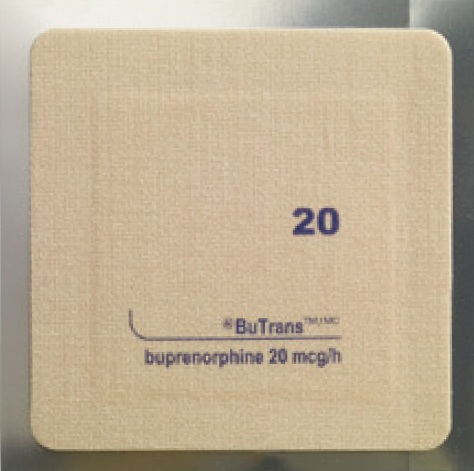 Suboxone transdermal patches for contraception