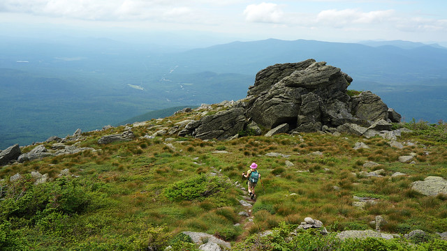 on the castle trail, mount jefferson, new hampshire