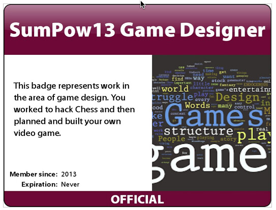 badge gamedesign