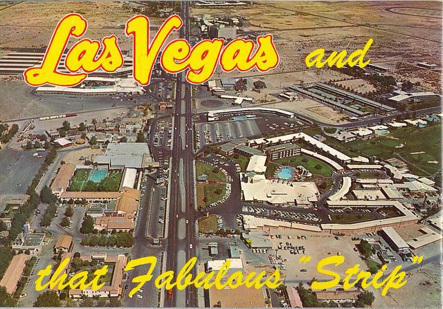 Retro Las Vegas 1950s Strip Aerial View Photo Flickr