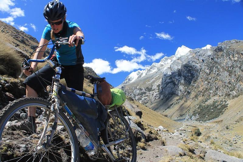 Pushing out to Quebrada Shallap