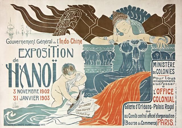 EXPOSITION de HANOI 1902