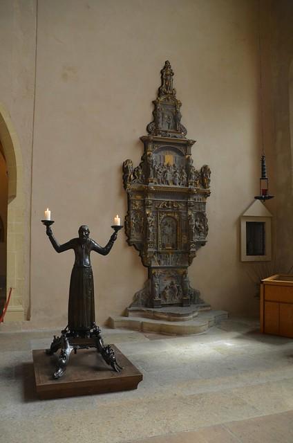 Wolframleuchter im Erfurter Dom