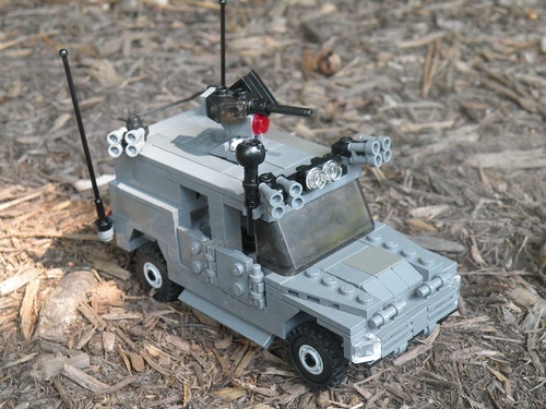 IMV M-94 Medusa Multirole All Terrain Recce Vehicle