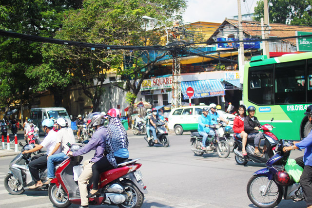 Visiting Ho Chi Minh City Vietnam