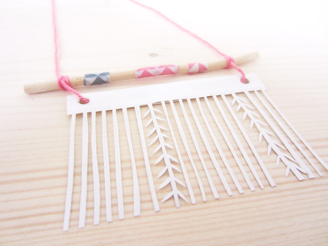 Papercut Necklace
