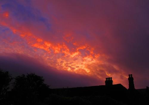 sunset scotland dumfries yakstrangler