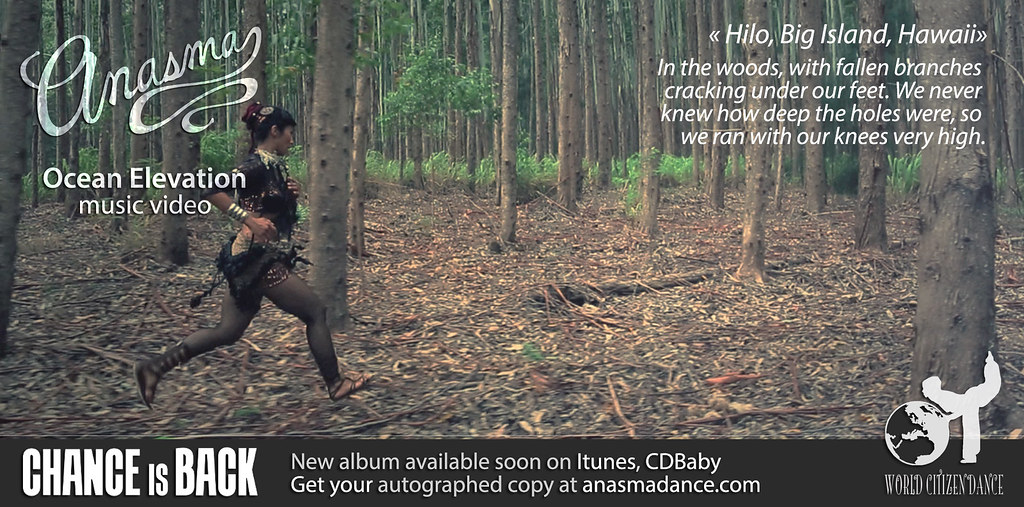 Anasma Music Video Ocean elevation teaser photo 33 in the woods