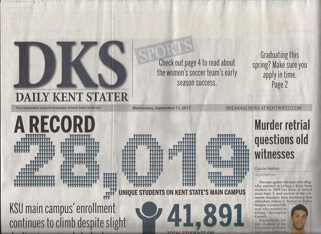 KSU Enrollment Infographic Headline M